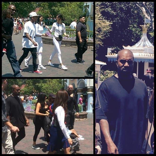 Ponosni otac Kanye Wst i neki od ostalih zvanica na zurci (foto: Instagram)