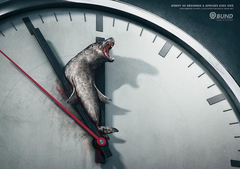 na svakih 60 sekundi jedna ugrozena vrsta izumre