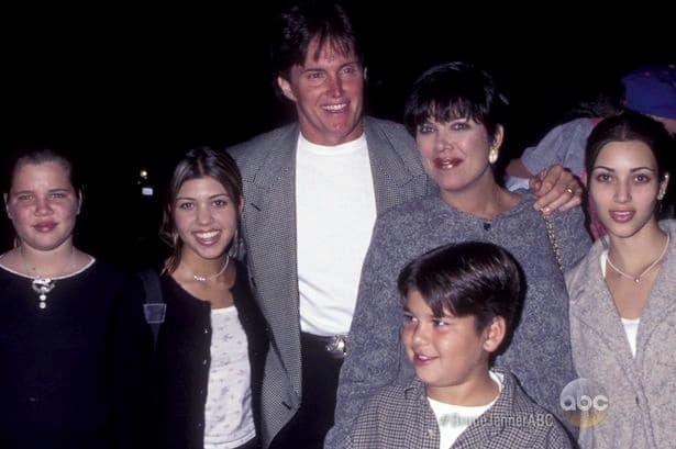 Podocica Jenner/Kardashian delovala je skladno i srećno pre skoro 20 godina (foto: ABC)