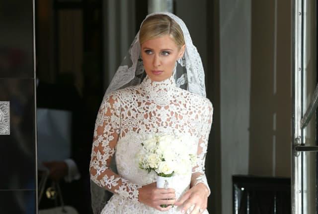 Nicky je nosila Valentino venčanicu (foto: GC Images)