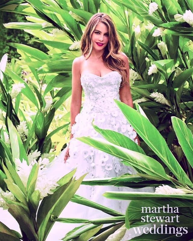 Sofia-Vergara-Martha-Stewart-Weddings
