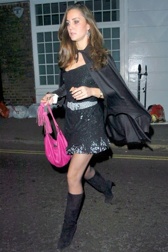 Kate Middelton kao veštica 2007.  godine (foto: Just Jared)