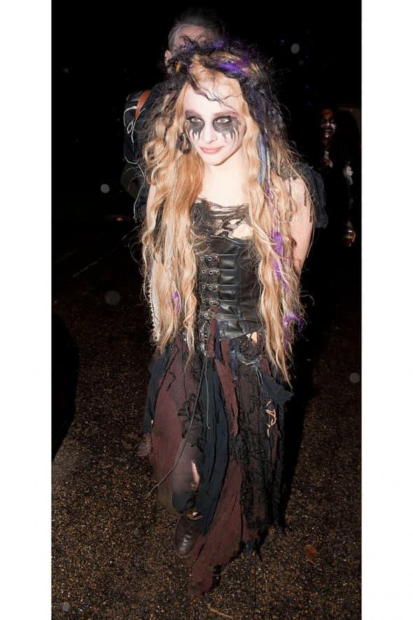 Chloe Mortez kao veštica/vampir 2012. godine (foto: WENN)