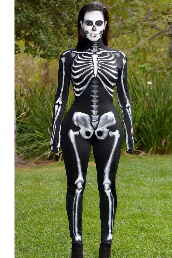 Kim Kardashian kao kostur 2014. godine (foto: Instagram)