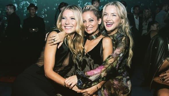 Gwyneth Paltrow, Kate Hudson Nicole Richie 1