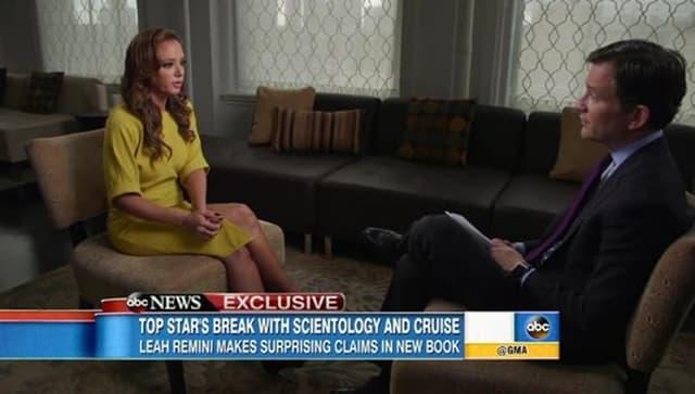 'Ako uvrediš Toma Cruisea to je kao da si uvredio crkvu i odmah si njihov neprijatelj', iskerena je Leah u intervjuu za ABC televiziju