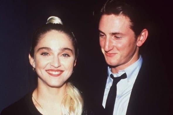 Madonna Sean Penn 1991