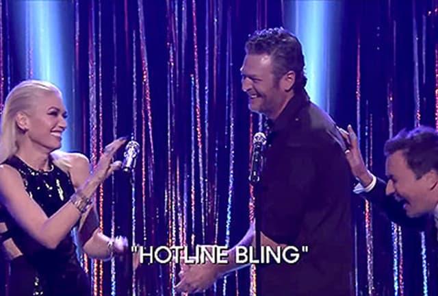 Gwen i Blake u duetu (foto: NBC)