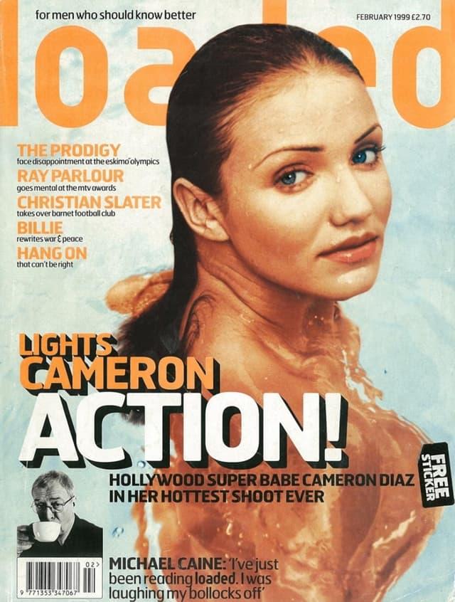 Naslovnica časopisa iz februara 1999. godine (foto: Loaded)