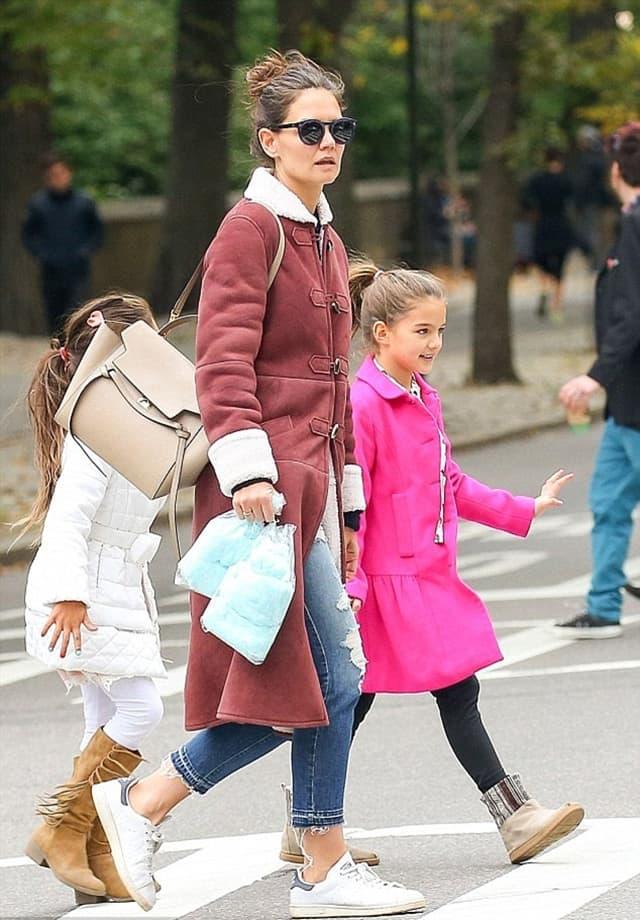 Katie sama odgaja ćerku u Njujorku (foto: Xposure)