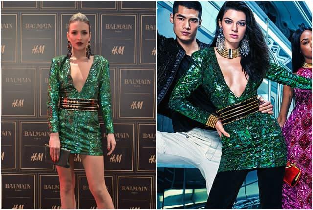 Dve lepotice u istoj haljini. Kojoj bolje stoji?