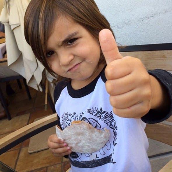 Mason sa dužoom kosom (foto: Instagram)