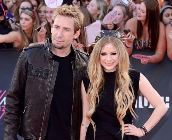 Avril Lavigne and Chad Kroeger-wenn