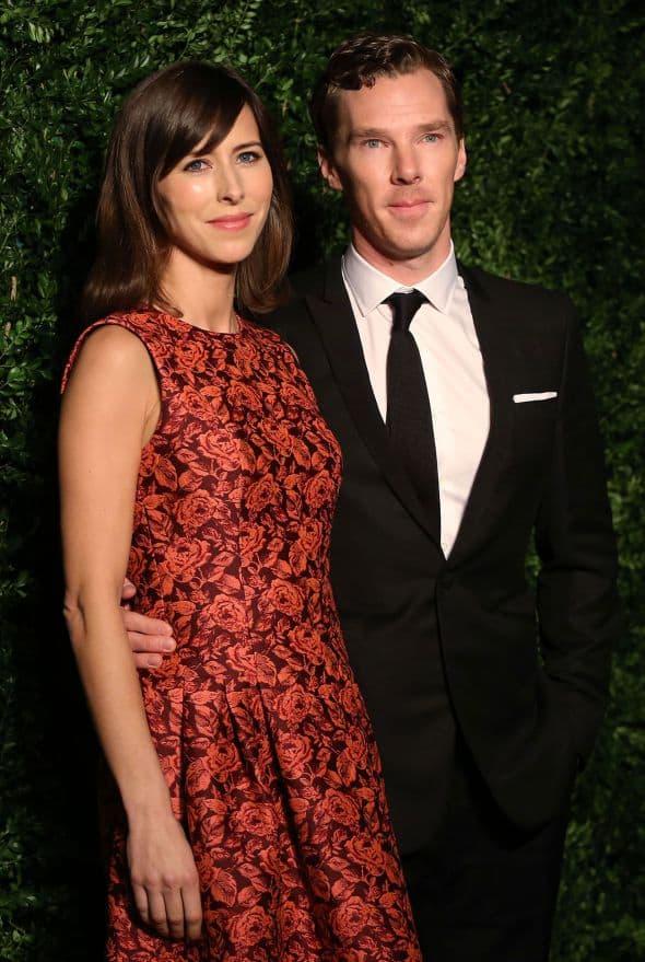 Benedict Cumberbatch & Sophie Hunter-wenn