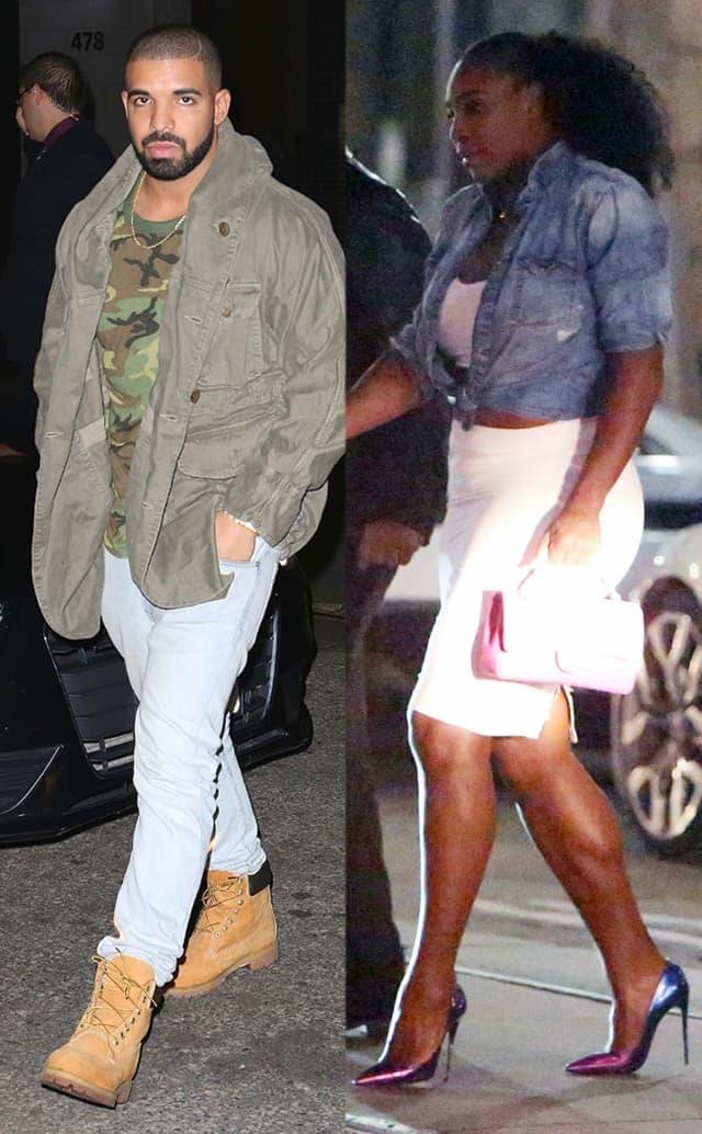 Drake i Serena su već pet meseci u vezi (foto: PacificCoastNews)