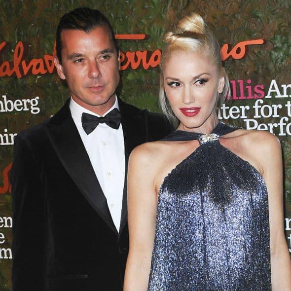 Gwen Stefani and Gavin Rossdale-wenn