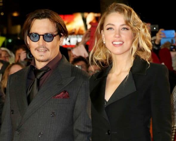 Johnny Depp & Amber Heard-wenn