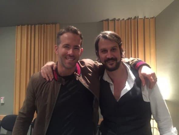 Srefan sa kolegom iz filma, Ryanom (foto: Twitter)