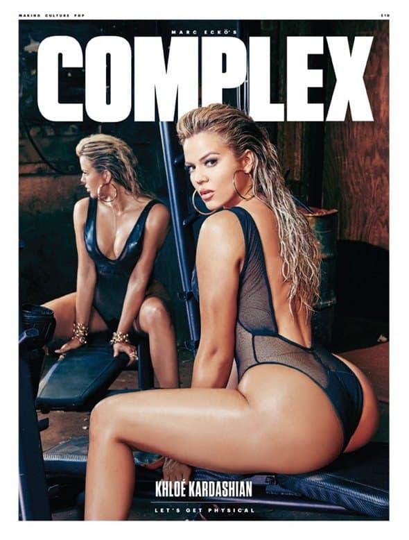 Khloe na naslovnoj strani magazina Complex (foto: steven gomillion)