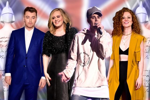 Neki od nominovanih za nagradu BRIT ove godine (foto: standard.co.uk)