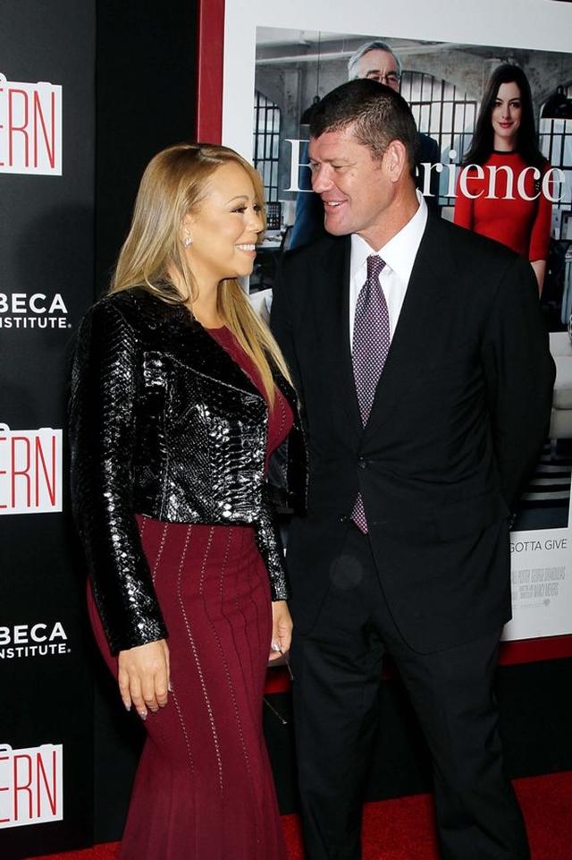 Mariah i James su u vezi od juna prošle godine (foto: Rex)