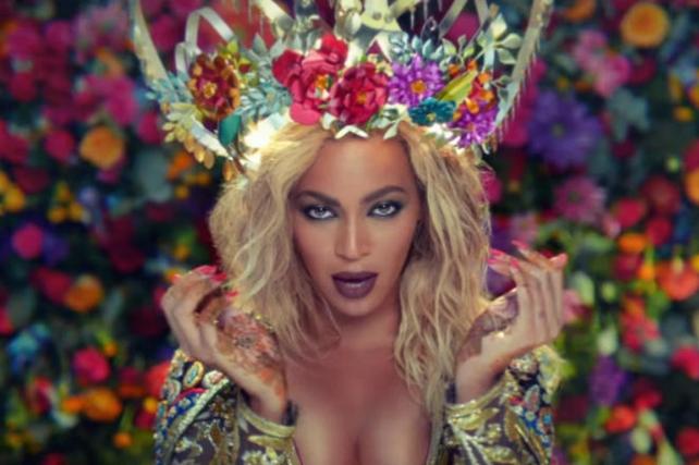 Beyonce je dočarala pravu bolivudsku divu (foto: Screenshot)