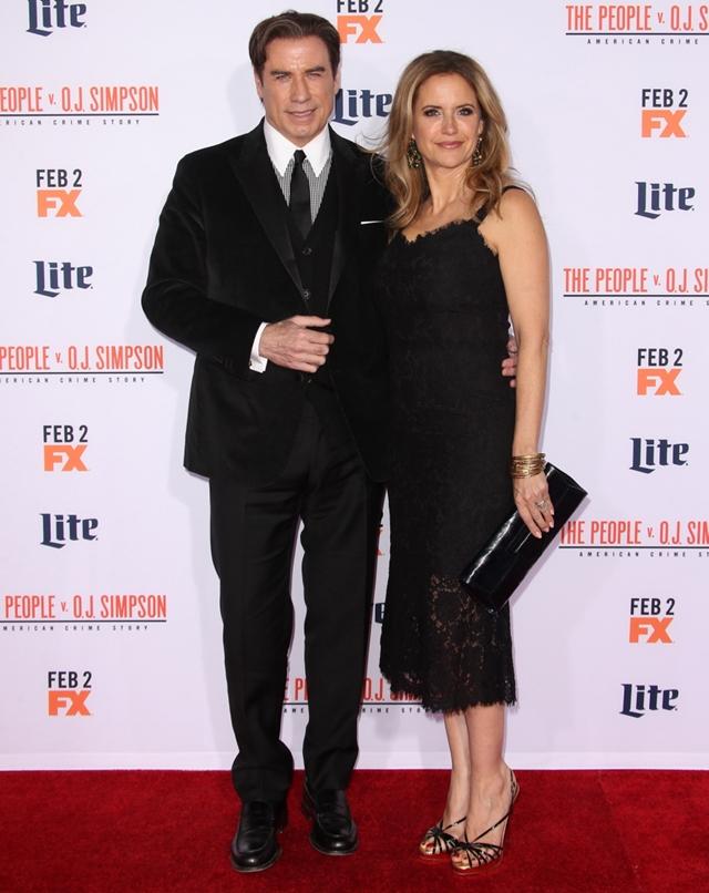 John Travolta i Kelly Preston (foto: Wenn)