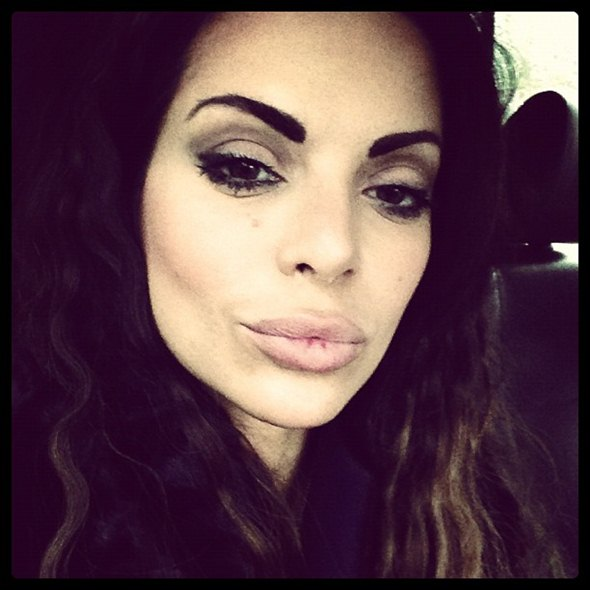 Sa šminkom (foto: Instagram)