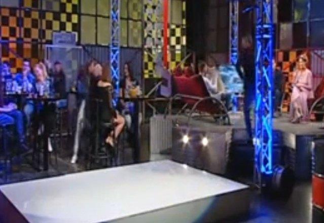 Ružica je udarila Eru, a potom napustila studio (foto: screenshot)