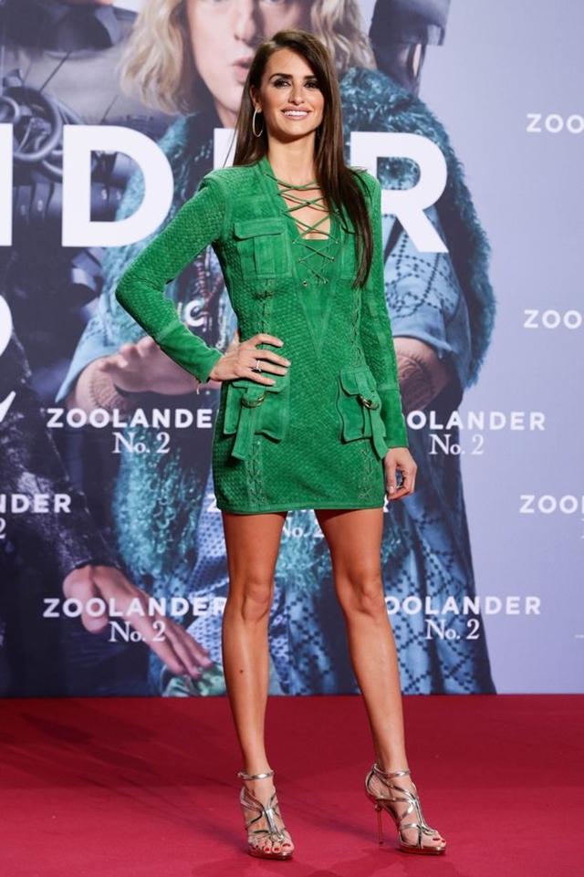 Glumica na premijeri filma 'Zoolander 2', u sandalama sa otvorenim prstima (foto: Rex)