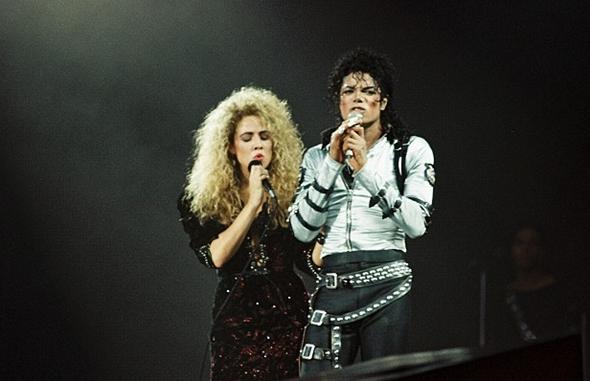 Sheryl Cole i Michael Jackson ( foto: redferns )