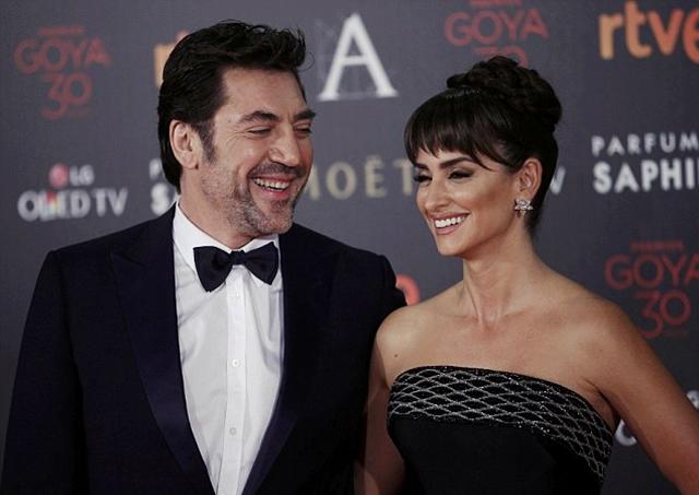 Javier i Penelope su izgledali savršeno na dodeli Goya nagrada u španskoj prestonici (foto: Reuters)