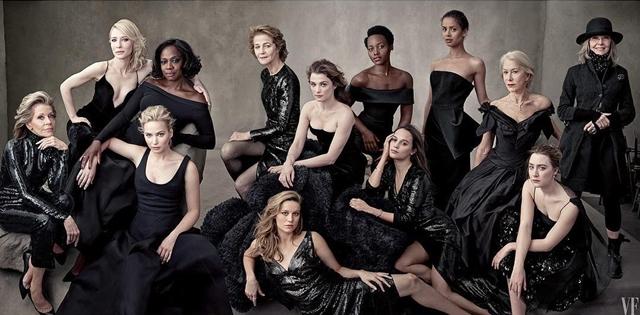 Sve ove dame pstvarile su zapažene uloge u filmovima u 2015. godini (foto: Vanity fair )