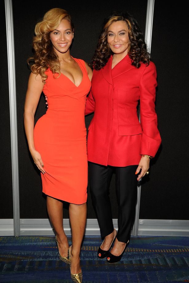 Beyonce and Tina Knowles Wireimage
