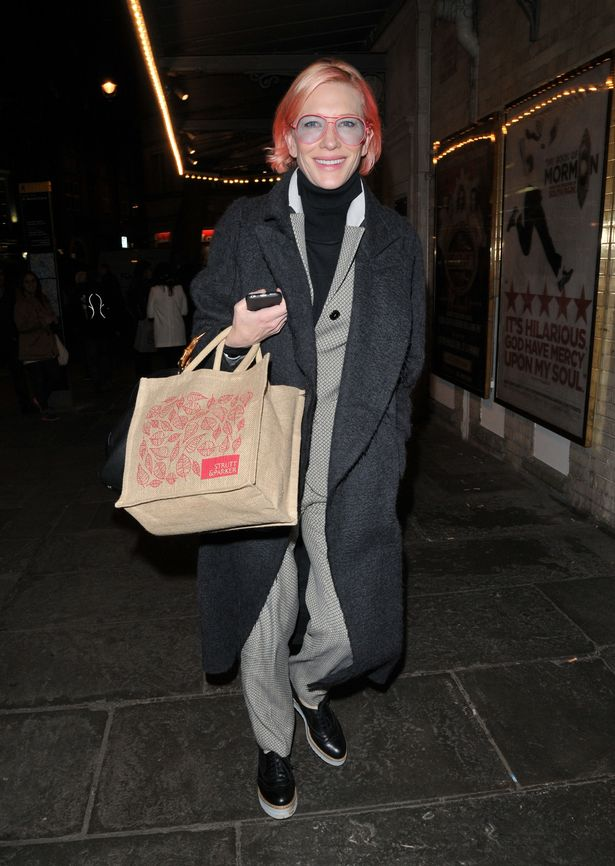 Cate-Blanchett-out-and-about-London 1