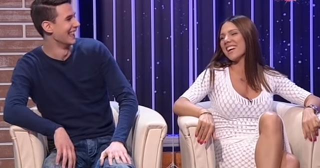 Dušan i Sandra u Amidži šouu ( foto: printscreen )