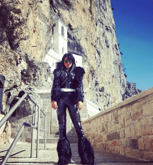 Tamara Ðuric na Ostrogu ( foto: instagram )