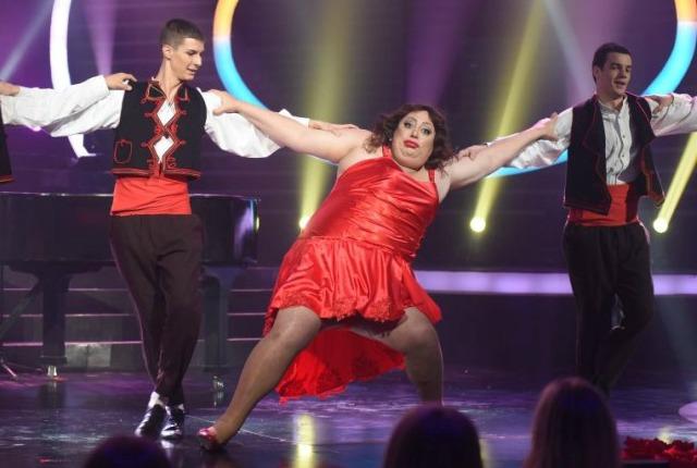 Đoša kao Severina u poslednjoj epizodi (foto: TV Prva)