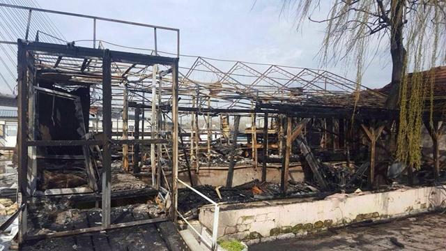 Požar je potpuno uništio objekat (foto: Facebook)