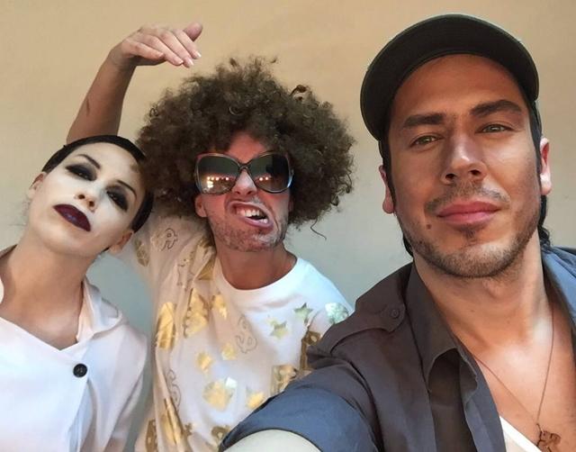 Ivana Negativ, Ajs i Enrique (foto: Instagram)
