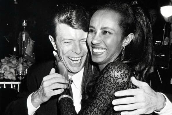Iman i David 1990. godine (foto: WireImagine)