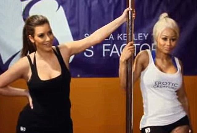 Kim Kardashian i Blac Chyna, nekada najbolje prijateljice ( foto: printscreen )