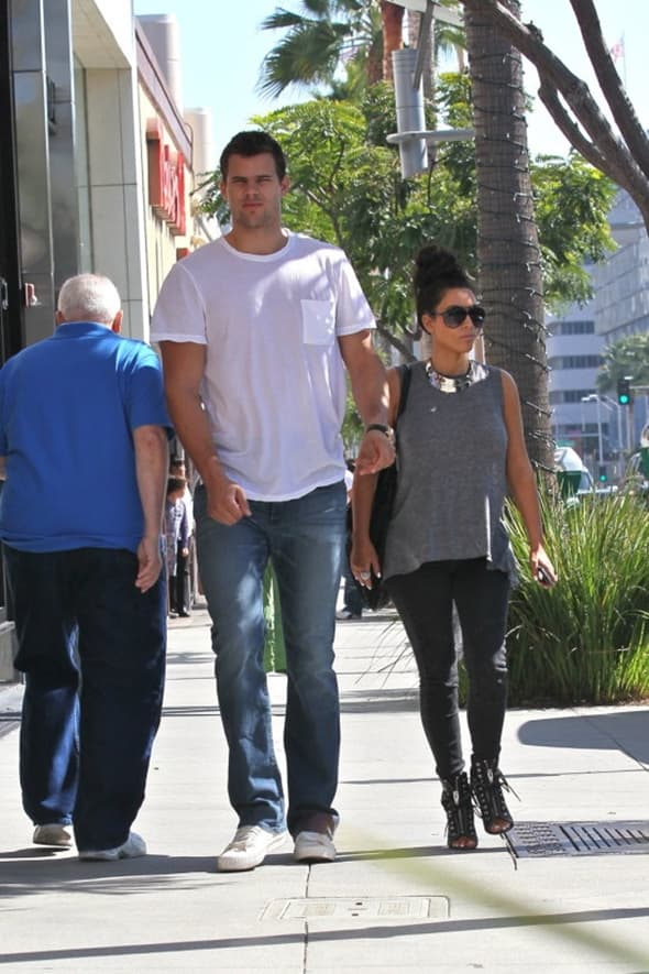 Kim Kardashian i Kris Humphries ( foto: WENN )