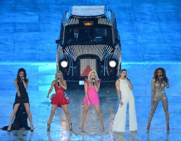 Spice Girls na zatvaranju Olimpijskih igara u Londonu 2012. (foto: Instagram)