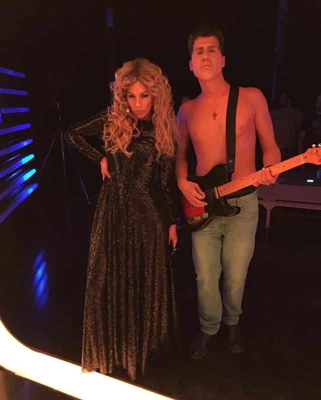 Kaya i Nikola kao Beyonce i Milan Mladenović (foto: Instagram)