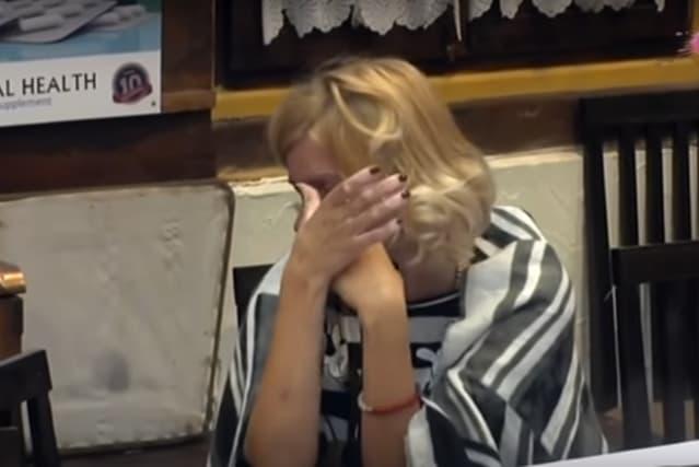 Jelena u suzama (foto: Screenshot)