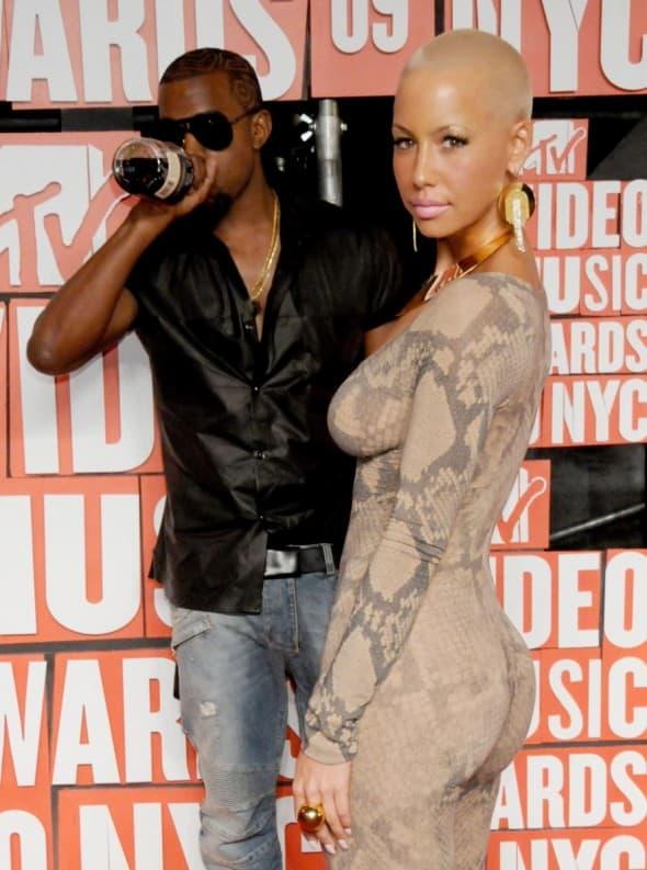 Kanye West i Amber su bili zajedno dve godine pre nego što su raskinuli 2010. godine.