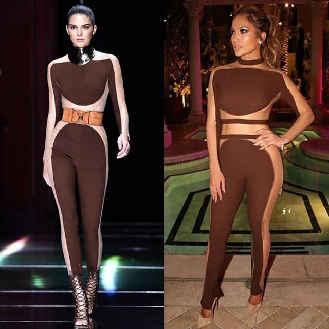Kendall vs. Jennifer (foto: Instagram)