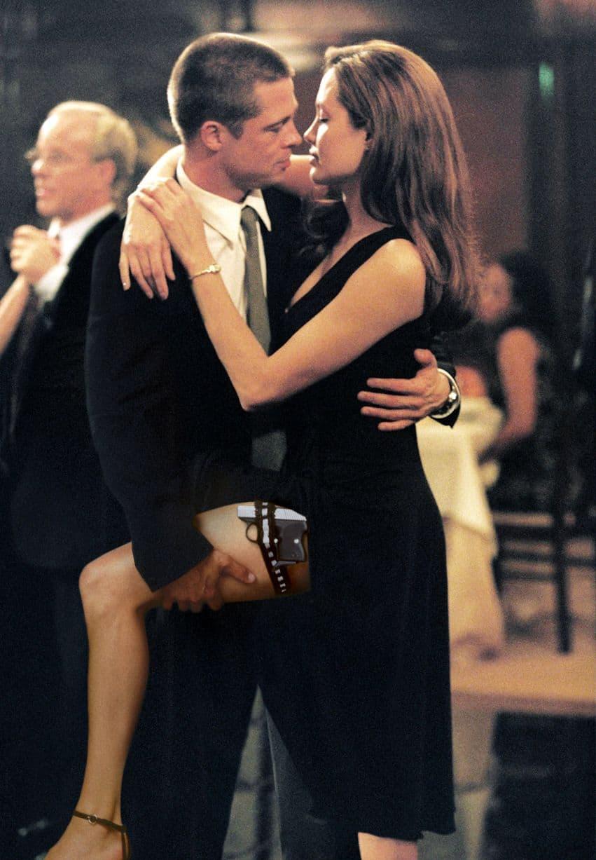 Par na snimanju filma 'Mr&Mrs Smith' 2004. godine (foto: 20thCenturyFox)