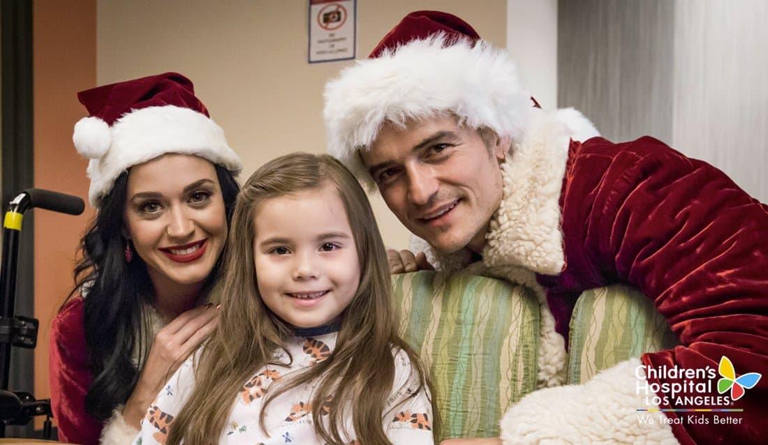 Katy Parry i Orlando Bloom (foto: twitter.com/ChildrensLA)